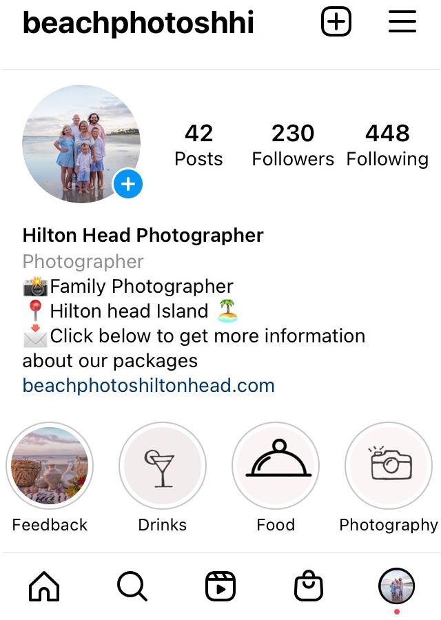 beach photography hilton head